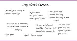 Doghotelslogans