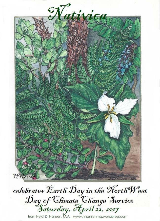 Nativica Earth Day Poster 2017